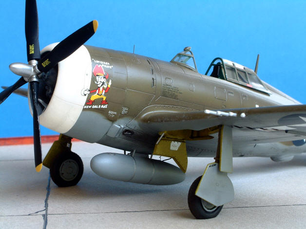 Accurate P 47d Thunderbolt The Hard Way Ipms Stockholm