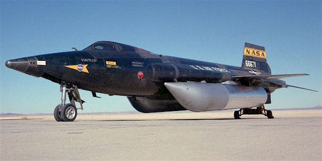 X 15 Speed On several flights the X-15A-2